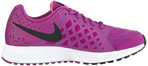 Nike Zoom Pegasus 31, Mädchen Laufschuhe Training Violett (Bold Berry/Black-White-Pink Power)