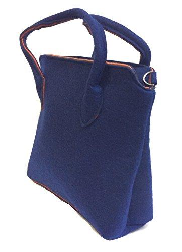 Dietz Fine AccessoriesSac Bleu À Einheitsgröße Pour Femme Main orxdeCB