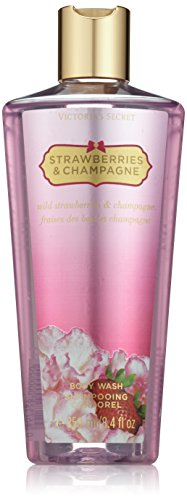 Victoria's Secret Strawberries and Champagne Women's 8.4-ounce Body Wash