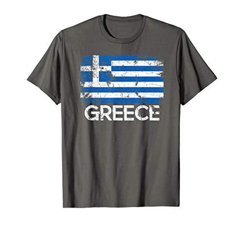 Greek Flag T-Shirt | Vintage Made In Greece -