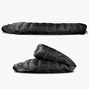 Outdoor Vitals Summit 0°F - 20°-30°F Down Sleeping Bag, 800 Fill Power, 3 Season, Mummy, Ultralight, Camping, Hiking