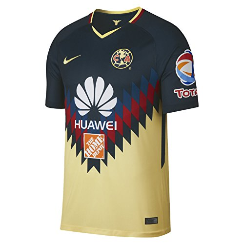 Nike Club America Youth Breathe Home Stadium Jersey [Armory Navy] (S)