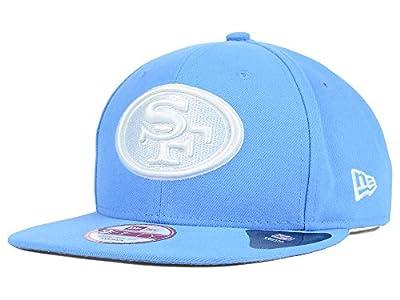 San Francisco 49ers new NFL Sky Blue Basic Snapback Adjustable Fit Hat One Size