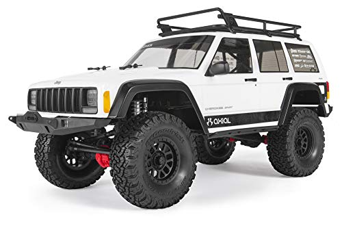 Axial SCX10 II Jeep Cherokee 4WD RC Rock Crawler Unassembled Off-Road 4x4 Electric Crawler, 1/10 Scale Kit