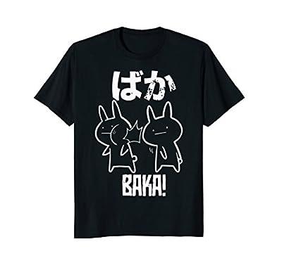 Funny Anime Baka Rabbit Slap Shirt Baka Japanese Tee