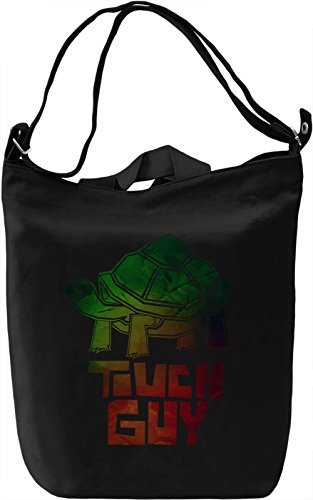 Touch Guy Borsa Giornaliera Canvas Canvas Day Bag| 100% Premium Cotton Canvas| DTG Printing|