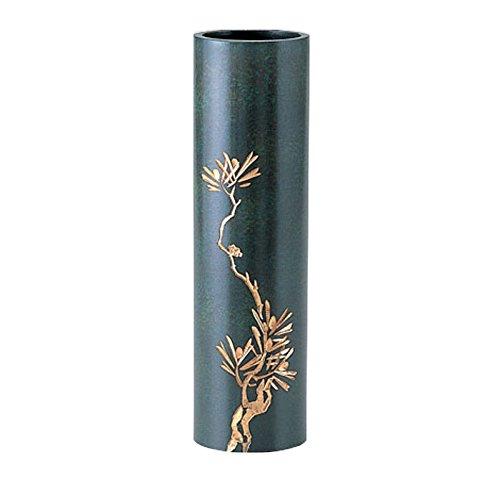 竹中銅器 銅製花瓶 丸寸胴 竹 107-55 B015JB6JZO 竹