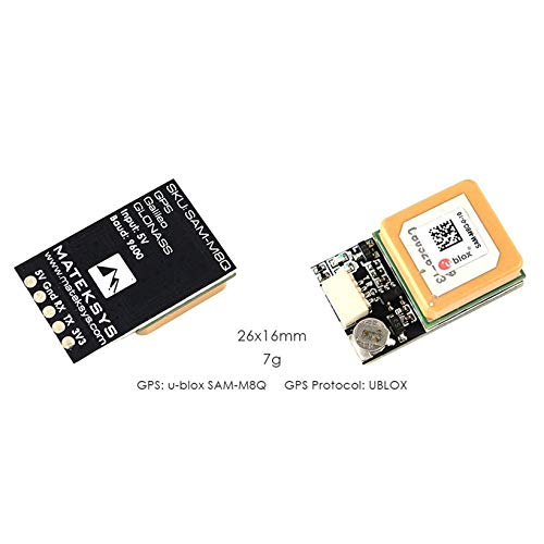 Wikiwand Matek Systems Ublox SAM-M8Q GPS Module for RC FPV Racing Drone Qudcopter by Wikiwand (Image #3)