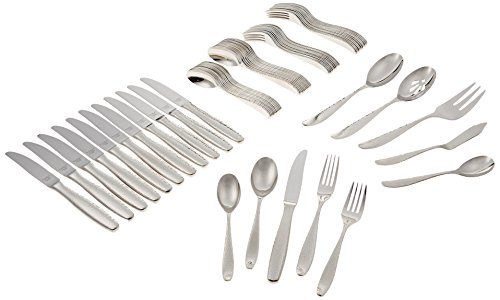 Reed & Barton Palmer 18/10 Stainless Steel 65-Piece Set, Service for 12 -