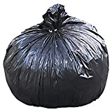 STOUT by Envision T4048B15 Total Recycled Content Bags, 100% Recyled Plastic, 40'' x 48'', 40-45 gal capacity, 1.50 mil thickness, Brown/Black (Pack of 100)
