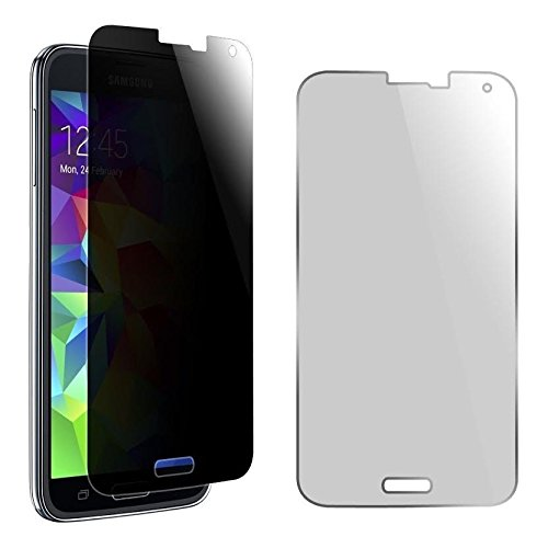 MagicGuardz®, Made for Samsung Galaxy S5, Privacy Anti-Spy Tempered Glass Screen Protector Shield, Retail Box
