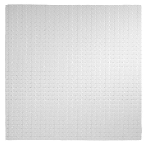 Genesis Easy Installation Classic Pro Lay-In White Ceiling Tile / Ceiling Panel, Carton of 12 (2' x 2' Tile) by Genesis
