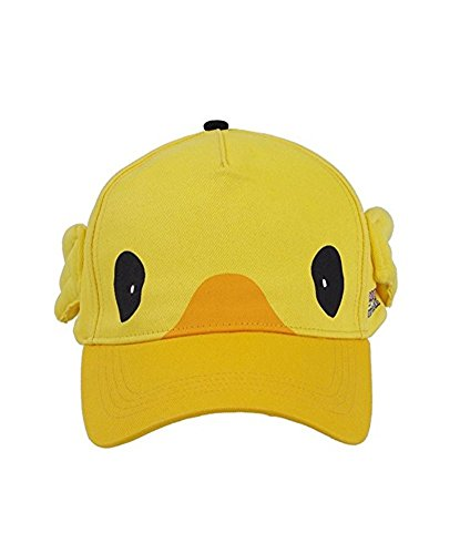 TISEA Unisex Cute Moogle Bird Moogle Chocobo Carnival Cosplay Costumes (One Size, Yellow Cap)