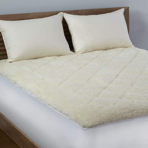 LC Classics LC Platinum Reversible Wool/Cotton Mattress Topper King