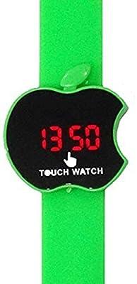 Swissrock Apple Shape Kids green LED Wrist Watch from SwissRock
