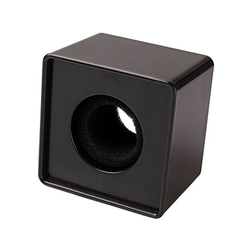 Square Microphone Station Logo Black - 8