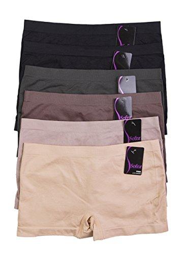 Seamless Panties Stretch Multi 6 Aztec 6pack