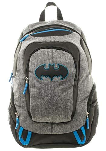 DC Comics Batman Backpack Dark Knight Heavy Duty Commuter Bag -
