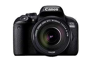 Canon EOS 800D Super Kit with EFS 18-135mm f 3.5-5.6 IS STM Digital Camera - SLR(800DSK) 3Inch Display,Black (Australian warranty)