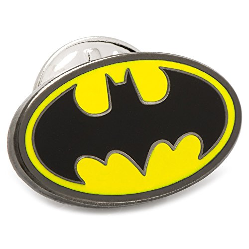DC Comics Enamel Batman Lapel Pin, Officially Licensed (Batman Enamel Pin)