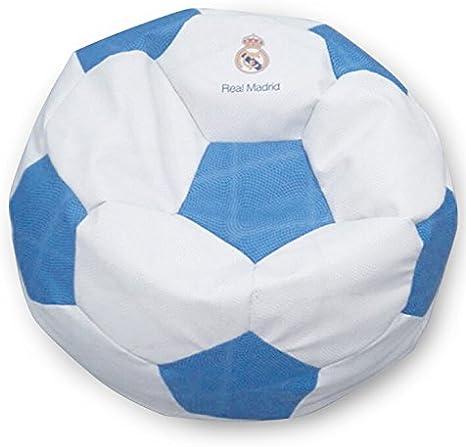 SUENOSZZZ - Real Madrid - Producto Oficial/Pouf Balón de fútbol ...