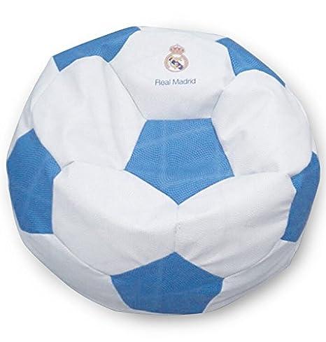 SUENOSZZZ - Real Madrid - Producto Oficial/Pouf Balón de ...