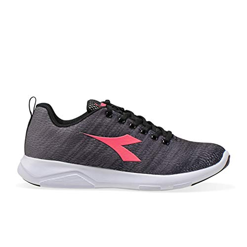 Run Negro Acero 3 X Running De Mujer Diadora Light gris Para C2815 Zapatilla W IPxHwgp