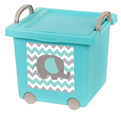 IRIS Baby Toy Storage Blue