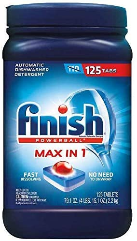 Amazon.com: Finish Max in 1 Plus detergente para ...