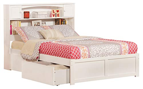 Atlantic Furniture AR8532112 Newport Bed Full White