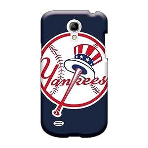 JohnPrimeauMaurice Samsung Galaxy S4 Mini High Quality Hard Cell-phone Cases Custom Lifelike Baseball New York Yankees Image [VmN27923KUSe]