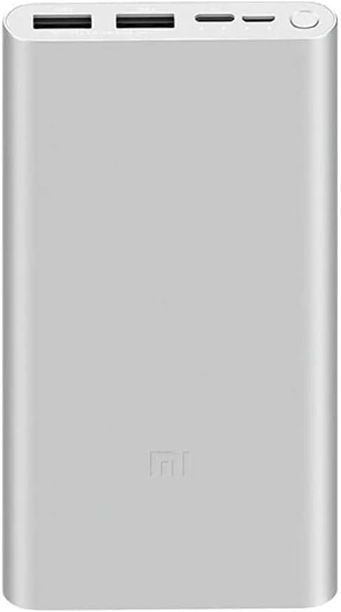 Xiaomi POWERBANK 18W Fast Charge Power Bank 3 10000MAH Silver