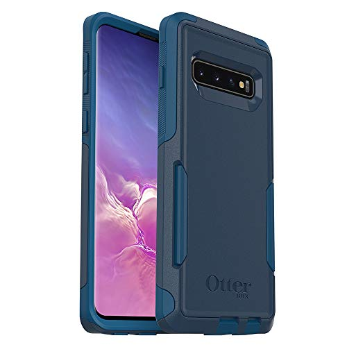 OtterBox COMMUTER SERIES Case for Galaxy S10 - Retail Packaging - BESPOKE WAY (BLAZER BLUE/STORMY SEAS BLUE)