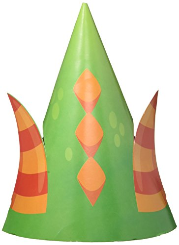 8-Count Child-Sized Party Hats with Cutouts, - Hat Sized