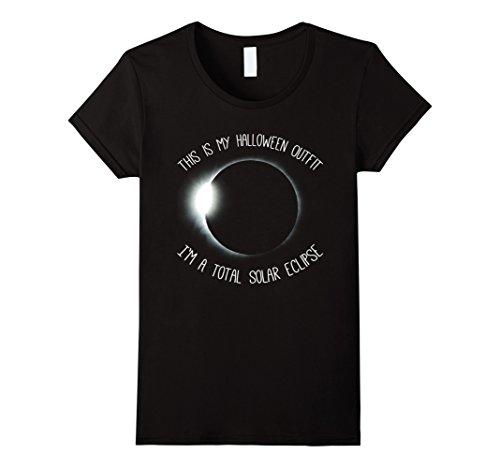 Full Moon Party Costume Ideas (Womens Solar Eclipse Halloween Costume | Solar Eclipse Wear Shirt Medium Black)