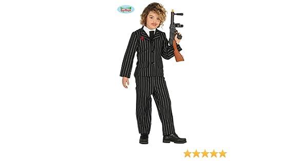 FIESTAS GUIRCA Bebé Traje de gángster: Amazon.es: Juguetes y juegos