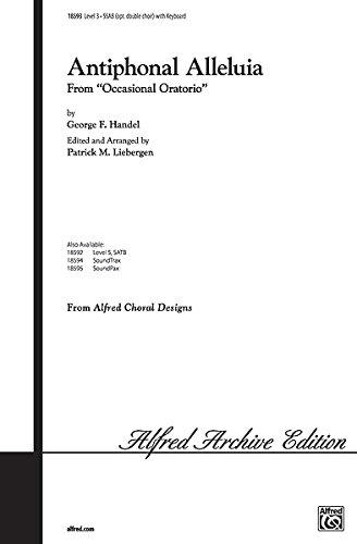 Antiphonal Alleluia Choral Octavo Choir Music by George Frideric Handel / arr. Patrick M. Liebergen ()