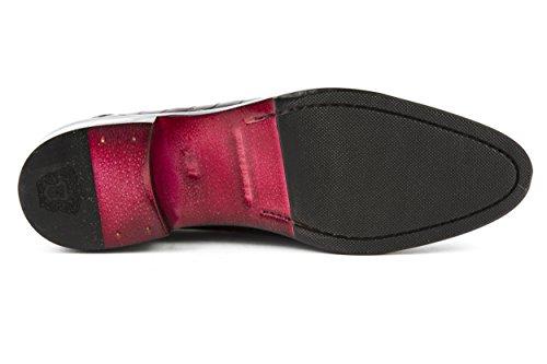 cordones rojo Zapatos de para amp; mujer de charol 37 Hamilton rojo Melvin xZU1Oqw6T