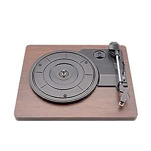 Tocadiscos retro 33 rpm antiguo Grammophon Tocadiscos de vinilo ...