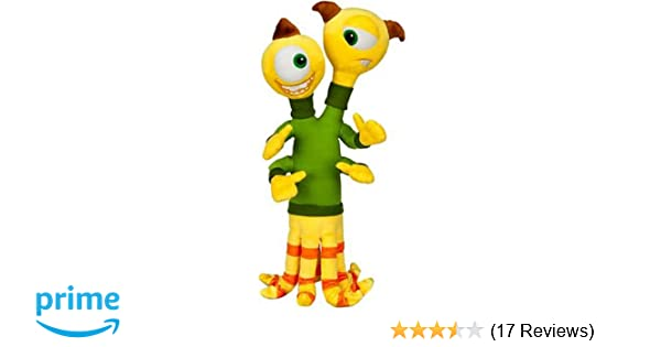 Amazon.com: Disney / Pixar MONSTERS UNIVERSITY Exclusive 16 Inch Plush Figure Terri & Terry: Toys & Games