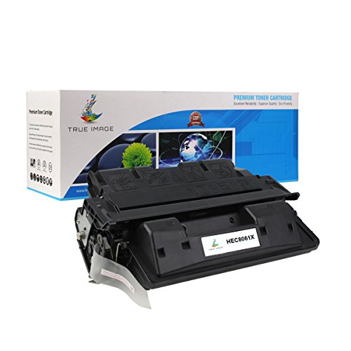 TRUE IMAGE Compatible Ink Cartridge Replacement for HP C8061X ( Black )
