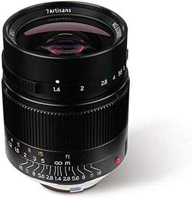 7artisans 28mm F1 4 Objektiv Mit Manuellem Fokus Für Kamera