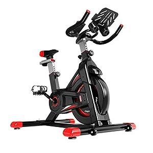 41UpRdmR%2B5L. SS300 Allenamento Spin Bike Professionale Cyclette Aerobico Home Trainer, Bici Da Fitness, Volano Inerziale, Regolazione Della Velocità Infinitamente Variabile, Ghiera Dati Lcd