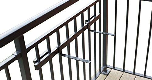 Hold It Mate Shelf Kit for Deck Railings (Deck Railing)