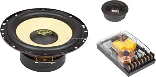 Audio System x-ion 165/ /Koaxiallautsprecher f/ür Auto 100/W Schwarz und Gelb