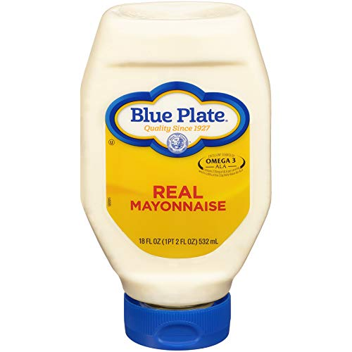 - Blue Plate Squeeze Mayonnaise, Regular, 18oz (Pack of 6)