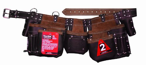 (Task Tools T77350 Master Carpenter's Apron, 12-Pocket)