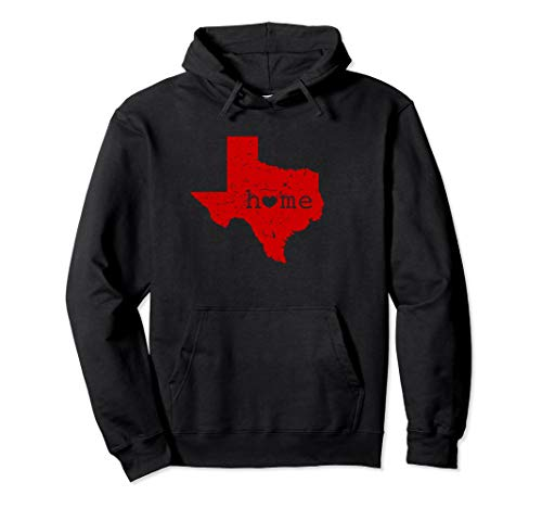 - Texas Home Where The Heart Red Tech University Gift Hoodie