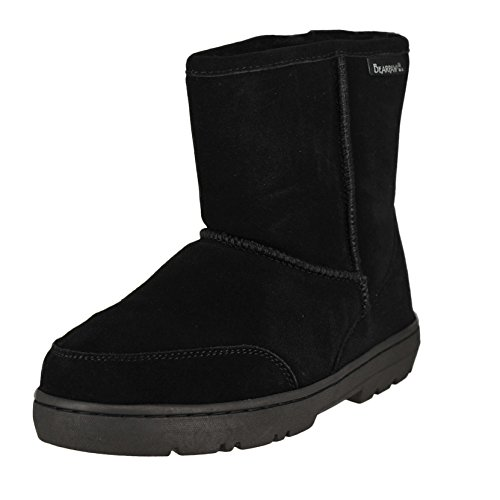 Review BEARPAW Men's Patriot Snow Boot,Black,10 M US