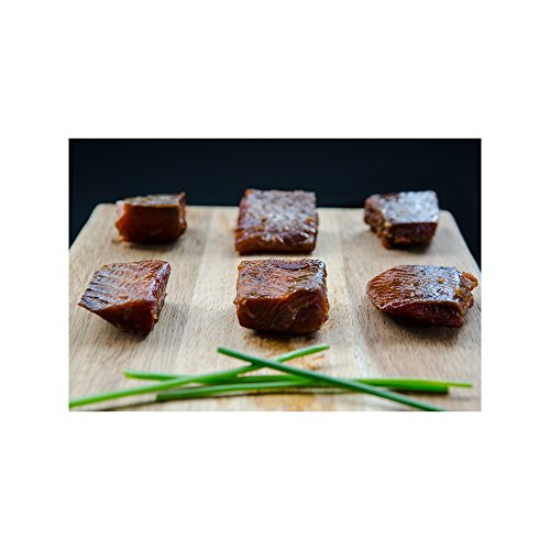 Wild Caught Canadian Maple Hot Smoked Wild Sockeye Salmon Nuggets (1 lbs)